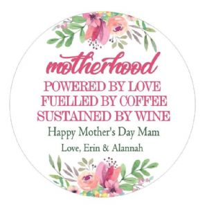 Mother's Day Flowers Plaque 4